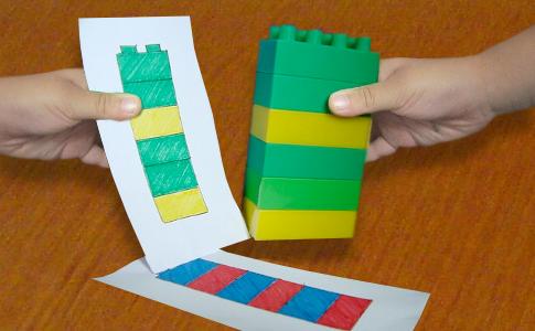 этой игры с кубиками лего